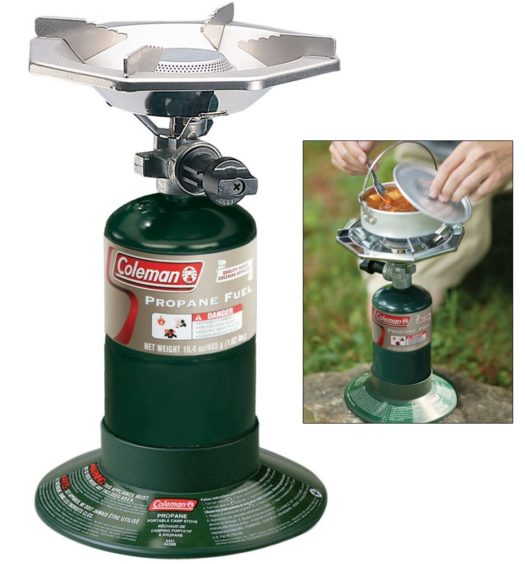 Single Burner Camping Stove By Coleman