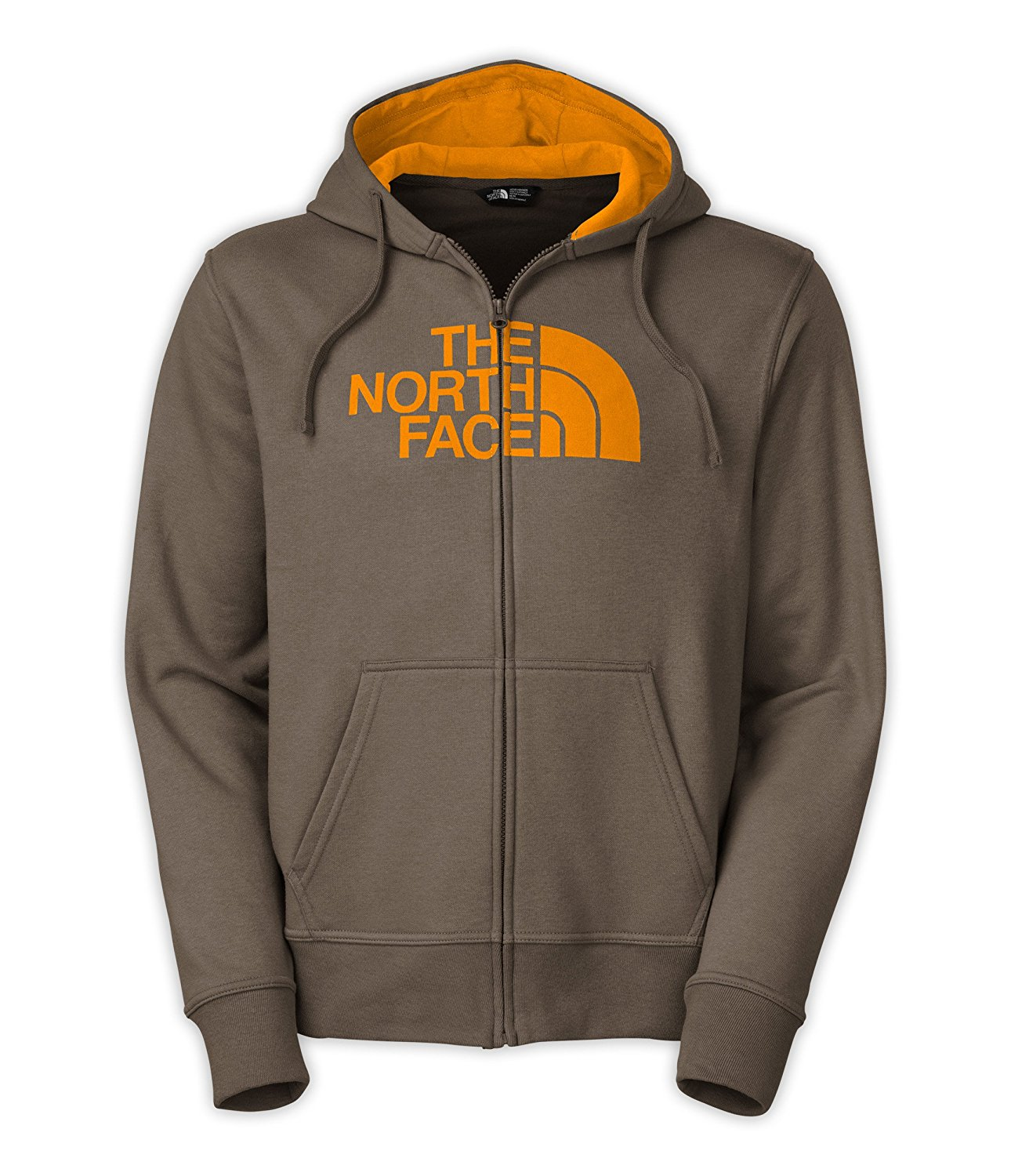 North Face Full Zip Half Dome Hoodie